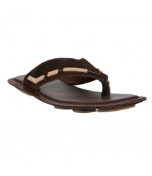 Le Costa Brown Slipper for Men - LSP0003